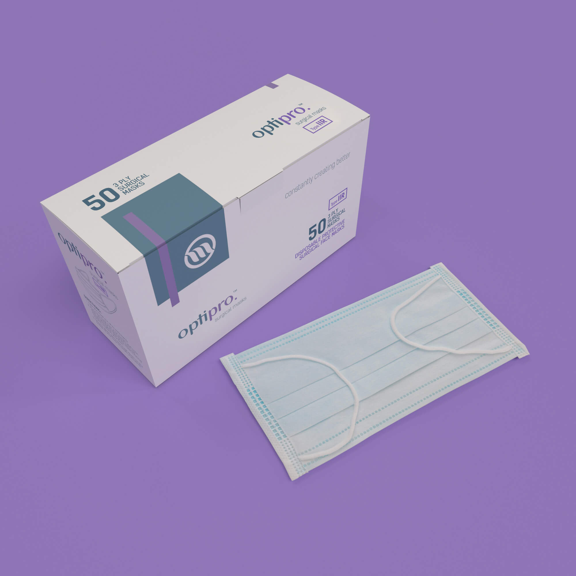 OptiPro Surgical Masks